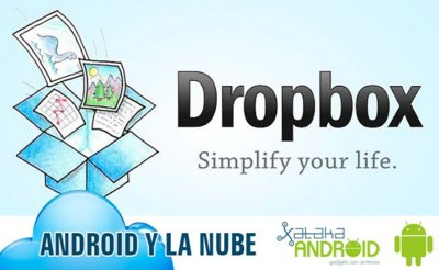 Android en la nube: Dropbox