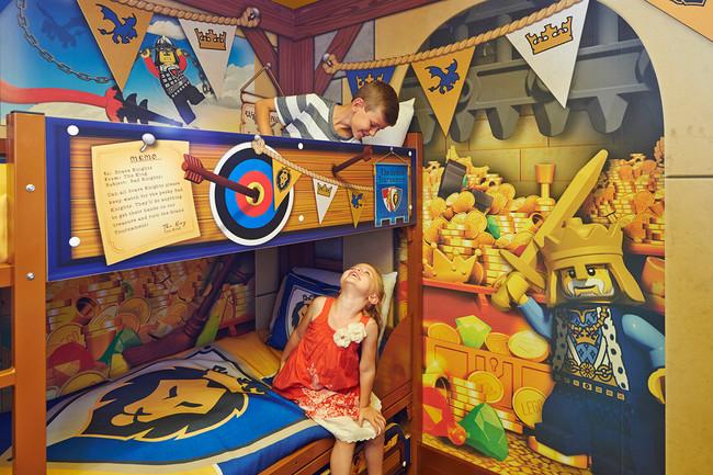Legoland Castle Hotel (Inglaterra), el paraíso para los fans de Lego