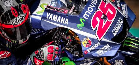 Viñales y Rossi prueban un nuevo carenado en Brno bajo las acusaciones de copia por parte de KTM