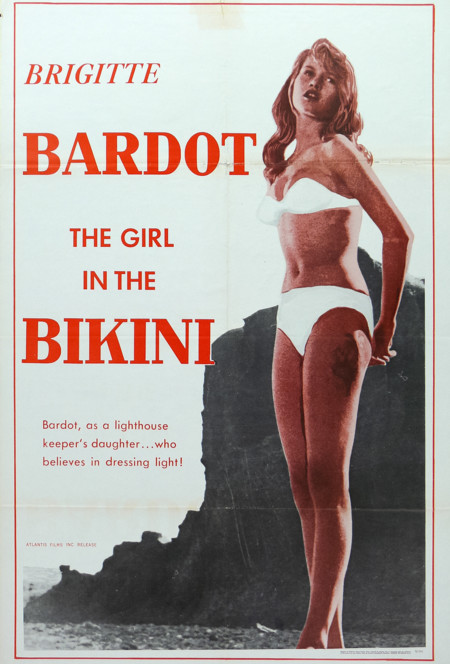 Brigitte Bardot en The Girl in the Bikini