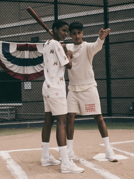 La Major League Baseball de Reebok Classic y Maison Kitsuné