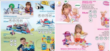 Llegan los catálogos sexistas de esta Navidad: ellas peluqueras o mamás, ellos pilotos o superhéroes