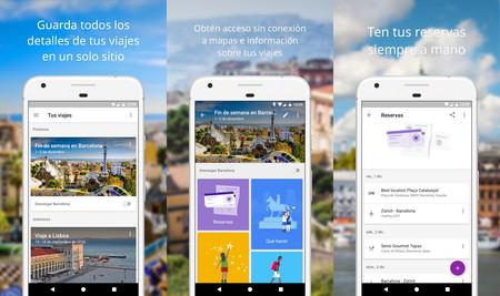 Resultado de imagen para Google Trips: planificador de viajes: apk