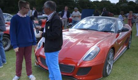 Callum, con sólo 12 años ya tiene tres Ferrari (desmentida)
