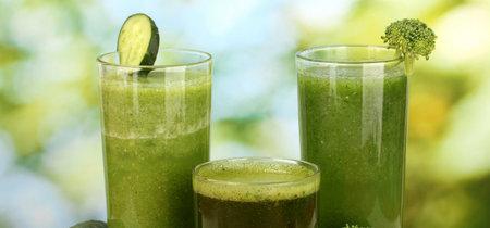 ¿Qué tanto sirven los jugos y licuado verdes? Aquí te damos algunas pistas.