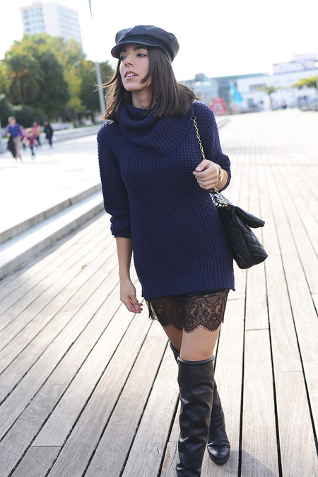 Vestido Lencero Negro 5