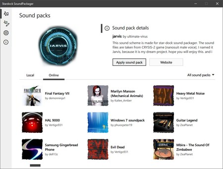 Cambiar Sonidos Windows 10 Soundpackager 3