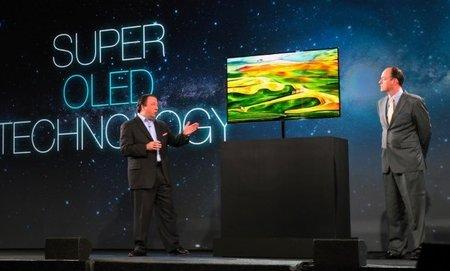 Samsung presenta su televisor con Super OLED  Technology