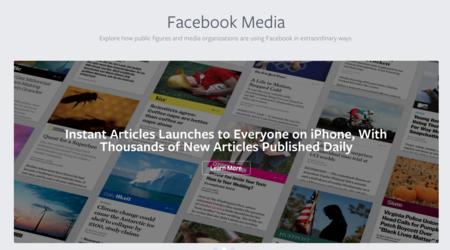 Facebook lanza plataforma para creadores de contenido en América Latina