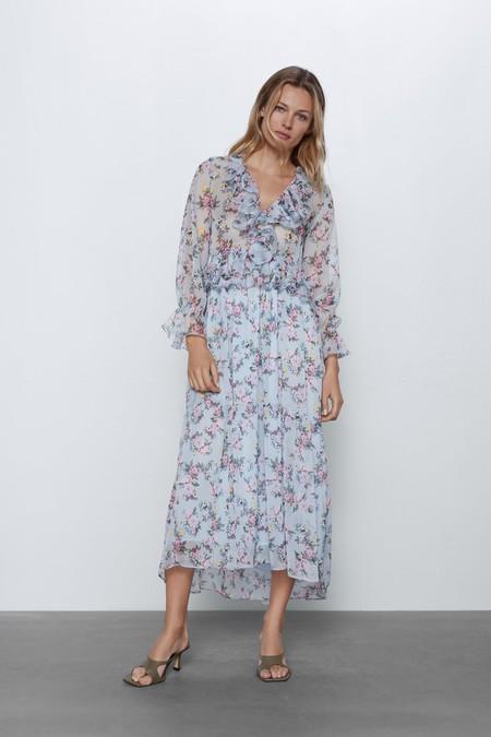 Vestidos Midi De Zara