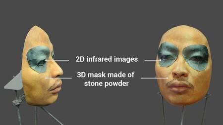 máscara engaño Face ID
