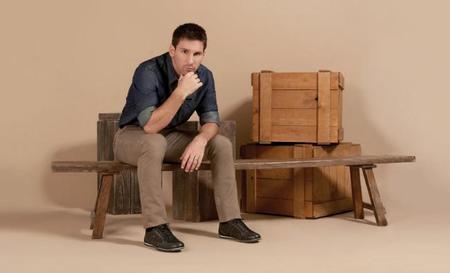 Continua la unión entre el fútbol y la moda: Messi para Stork Man