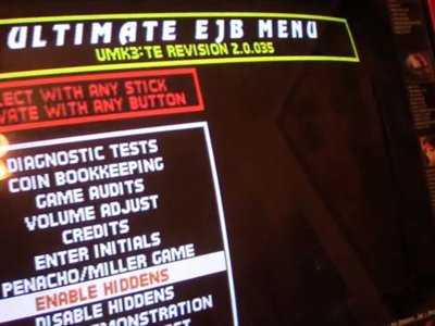 Después de dos décadas, descubren un menú secreto en las arcade de Mortal Kombat