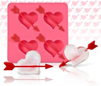 San Valentín: corazones de hielo