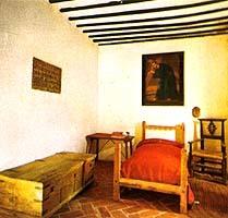La celda donde murió Quevedo, y un soneto