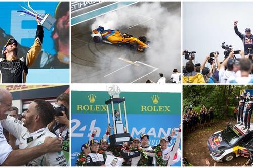 Estos son los momentazos de 2018 que pasarán a la historia del motorsport