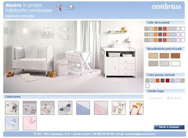 Habitaciones personalizadas para bebé, con Cambrass