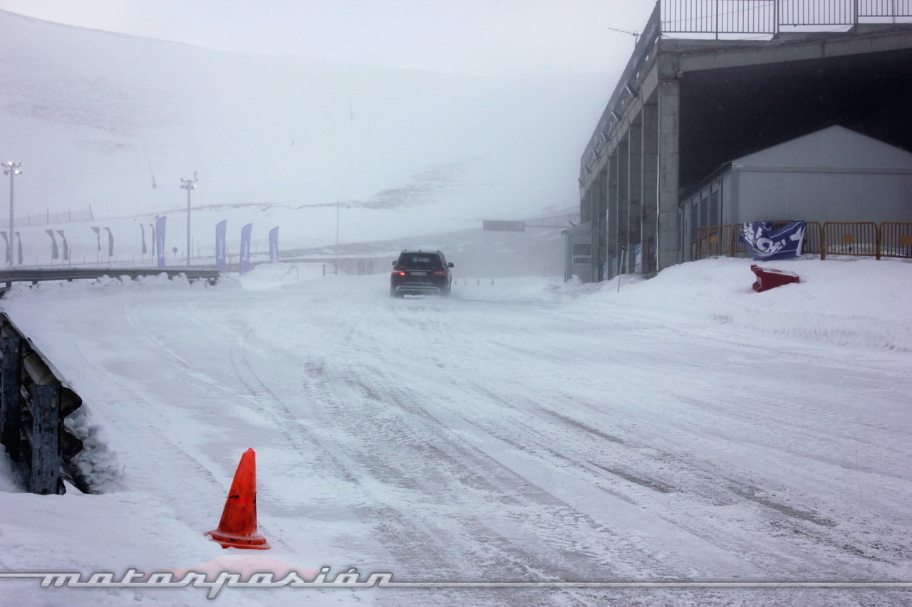 Foto de Michelin Pilot Alpin y Michelin Latitude Alpin, Experiencia 4Matic (25/27)