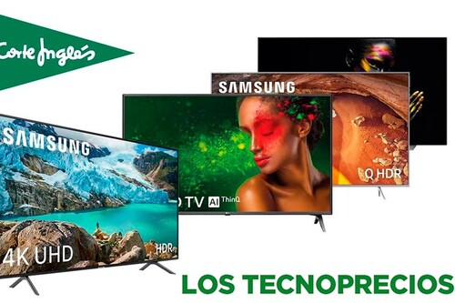 Los Tecnoprecios de El Corte Inglés te dejan estas 24 smart TVs de LG, Samsung y Sony a precios increíbles