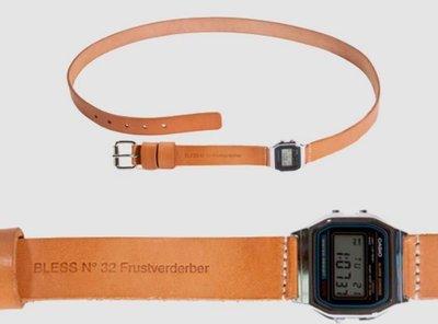 El cinturón-reloj por Bless