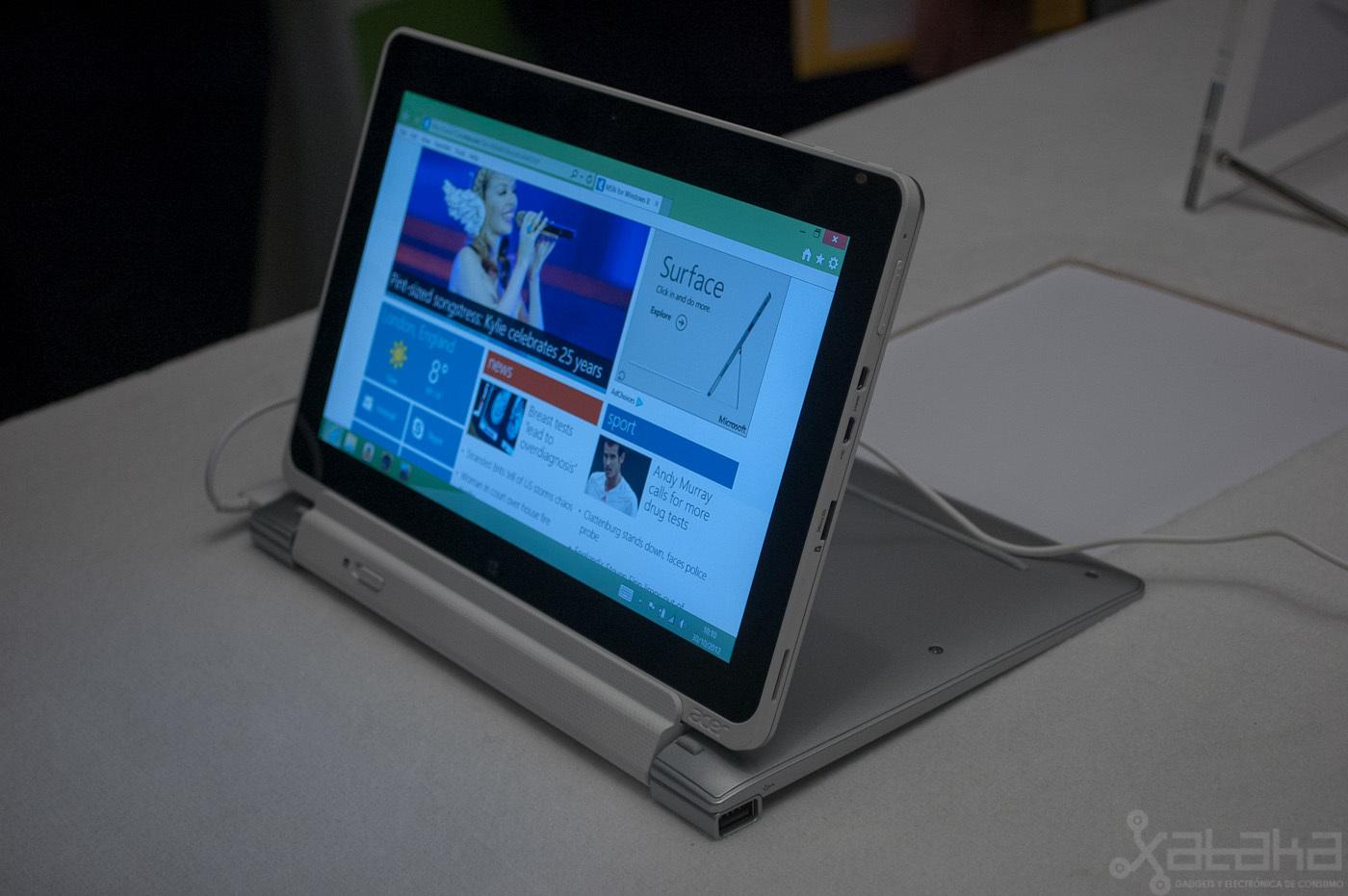 Foto de Acer Iconia W510, primeras impresiones (5/14)