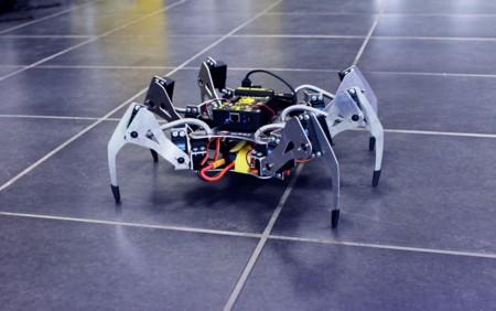 Los drones no lo son todo: esta araña robótica está controlada por Ubuntu