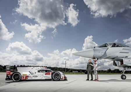 Es hora de conocer las similitudes (y diferencias) entre el Audi R18 e-tron quattro y el Eurofighter Typhoon