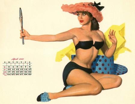 calendario vintage