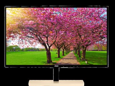 AOC presenta el P2779VC, un monitor básico pero que cuenta con una base de carga inalámbrica Qi