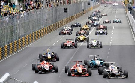 António Felix da Costa arrasa en el GP de Macao de F3 2012