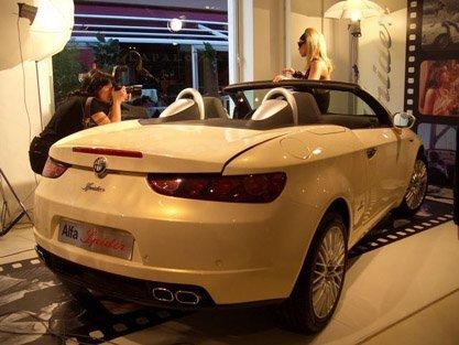 Presentación del Alfa Brera Spider