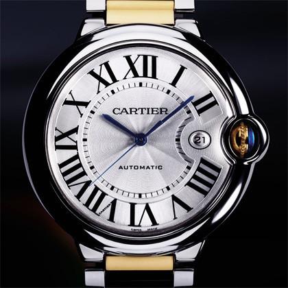Cartier Ballon Bleu - Oro y Acero