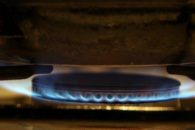 Fuego de gas