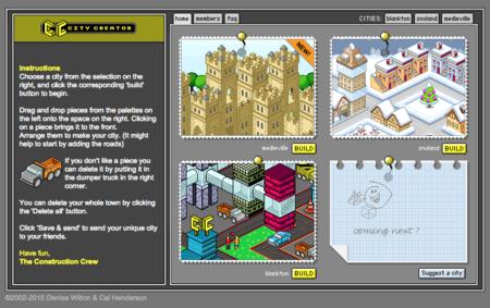 CityCreator convierte tu navegador en un constructor de ciudades sin las complicaciones de Sim City