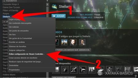 Steam: cómo configurar tu mando