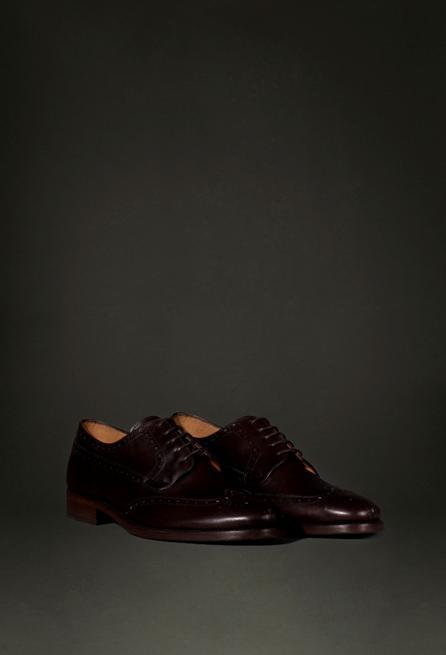 Zapatos marrón brogue Massimo Dutti NYC