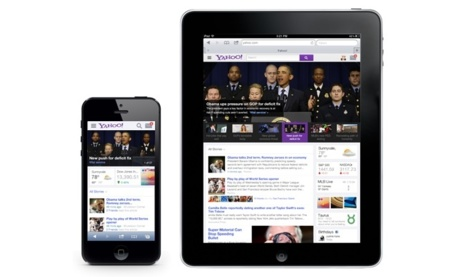 yahoo web movil tableta