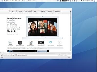 DeskBrowse, un navegador diferente