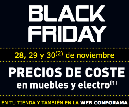 Black Friday Conforama