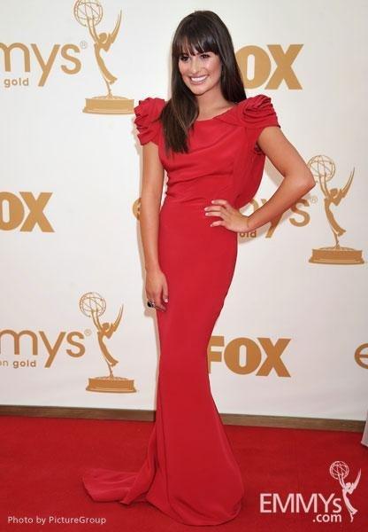 Lea Michelle vestido emmy