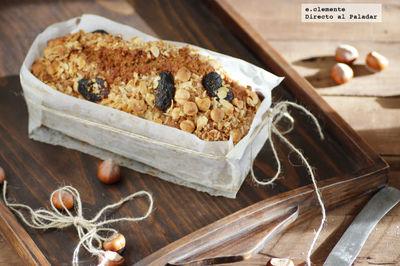Cake de ron con frutos secos. Receta