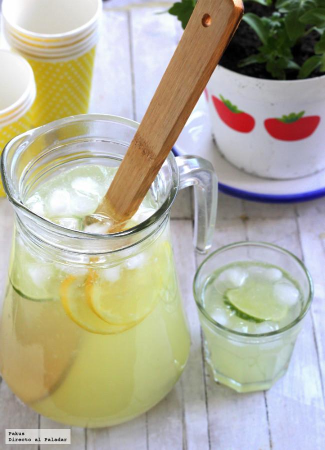 receta americana limonada casera