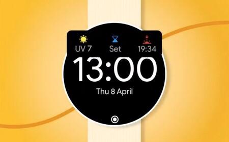 Wear OS ya muestra el nivel de radiación ultravioleta en el widget del tiempo