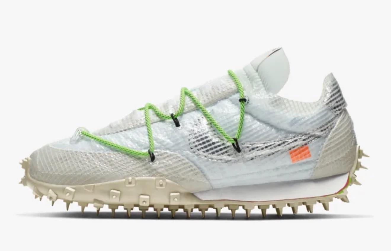 """Abloh lanza este nuevo homenaje al """"atleta en progreso"""" con las Nike x Off-White Waffle Racer. El diseño inspirado en la competición parte de las bases creadas por Bill Bowerman para crear unas zapatillas que son toda una explosión de colores y detalles icónicos."""