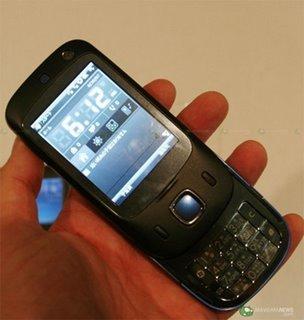 HTC P5500 Touch II, el anteriormente conocido como Nike