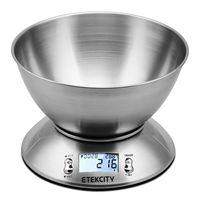 Oferta flash: Sólo hoy báscula digital para cocina Etekcity EK4150 por 16,99 euros en Amazon