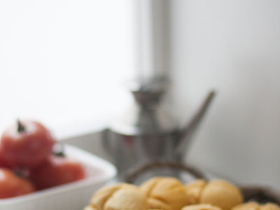 Panecillos de maíz. Receta para un desayuno sin gluten