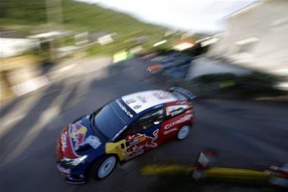 Sébastien Loeb continúa con su dominio en el Rally de Catalunya