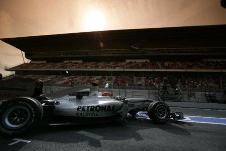 GP de España 2010: Michael Schumacher ve la luz al final del túnel