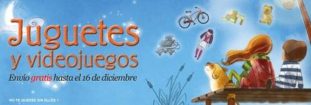 Los gastos de envío de juguetes y videojuegos te saldrán gratis en 'El Corte Inglés' hasta el 16 de diciembre